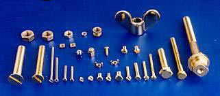 Bolts Nuts Industrial Fasteners Brass DIN 933 934 Fasteners India