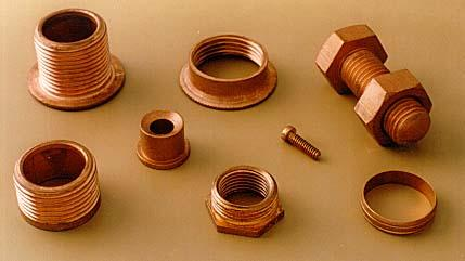 Copper Fittings Machined Copper Fittings