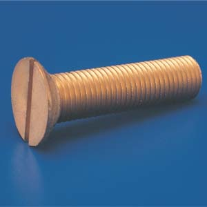 Brass CSK Head Screws Brass Countersunk Head Screws