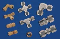Compression Fittings Brass Compression Fittings Stainless Steel Compression Fittings
