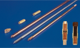 Copper Bonded Earth Rods  Earthing Rods Copper Grounding Rods